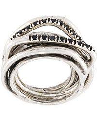 Iosselliani - 'heritage' Ring Set - Lyst