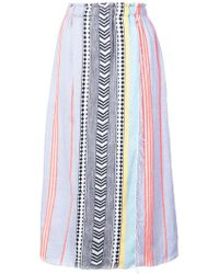 lemlem - Sofia Wrap Skirt - Lyst