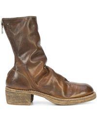 Guidi - Ботинки На Каблуке - Lyst