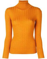 M Missoni - Roll Neck Sweater - Lyst