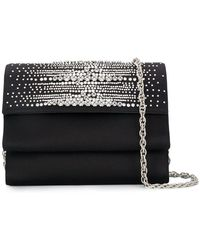 Rodo - Crystal Embellished Clutch Bag - Lyst