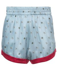 Morgan Lane - Daisy Bee Embroidered Chloe Shorts - Lyst
