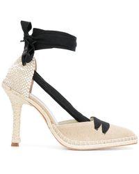 Castaner - High-heel Espadrille Court Shoes - Lyst
