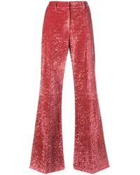 L'Autre Chose - Flared Tailored Trousers - Lyst