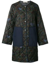 ODEEH - Quilted Coat - Lyst