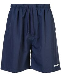 Noon Goons - Embroidered Logo Shorts - Lyst