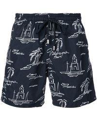 Vilebrequin - Embroidered Swim Trunks - Lyst