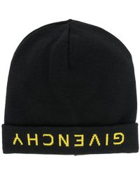 Lyst - Givenchy Classic Beanie Hat in Black for Men 9d98c940beee