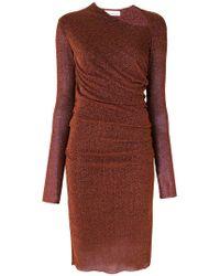 A.F.Vandevorst - Asymmetric Scoop Neck Dress - Lyst