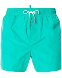 DSquared² - Logo Swim Shorts - Lyst