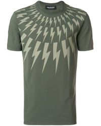 Neil Barrett - Lightning Bolt T-shirt - Lyst