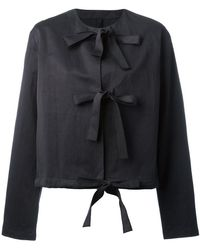 Sara Lanzi - Front Strap Jacket - Lyst