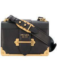 eae40683a672 Prada Cahier - Women's Prada Cahier Bags - Lyst