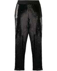 Gaëlle Bonheur - Side-stripe Embellished Trousers - Lyst