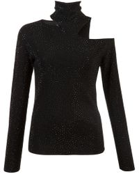 Alice + Olivia - Cut-out Detail Jumper - Lyst
