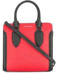 Alexander McQueen - Heroine Colour-block Bag - Lyst