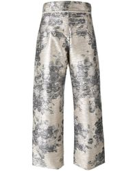 Aviu - Floral Print Pants - Lyst