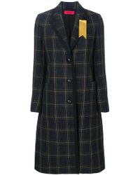The Gigi - Checked Coat - Lyst
