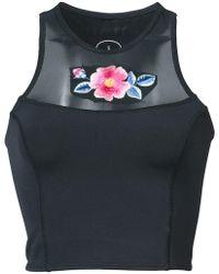 Cynthia Rowley - Cassie Floral Bikini Top - Lyst