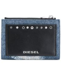 DIESEL - Front Logo Patched Purse - Lyst