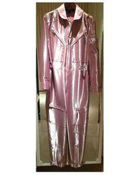 Ralph Lauren - Collection: Pink Metallic Jumpsuit - Lyst