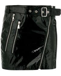 Manokhi - Belted Mini Skirt - Lyst