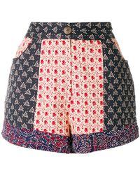 Antik Batik - Printed Shorts - Lyst