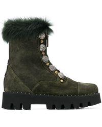 Alberto Gozzi - Zip-up Boots - Lyst