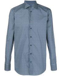 Etro - Geometric Print Shirt - Lyst