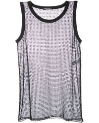 Dolce & Gabbana - Netted Tank Top - Lyst