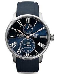 Ulysse Nardin - Reloj Marine Torpilleur 42mm Exclusivo en Farfetch - Lyst