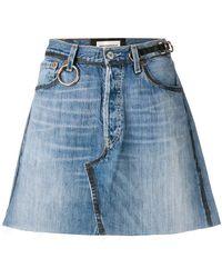 Night Market - Nigth Market X Levi's Denim Mini A-line Skirt - Lyst