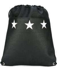 Givenchy - Star Print Drawstring Backpack - Lyst