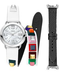 Fendi - Selleria Watch With Interchangeable Straps - Lyst