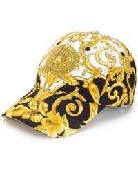 Versace - Baroque Print Cap - Lyst