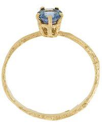 Alex Monroe - Pale Blue Sapphire Eyebright Ring - Lyst