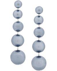 Moy Paris - Pearl-effect Drop Earrings - Lyst