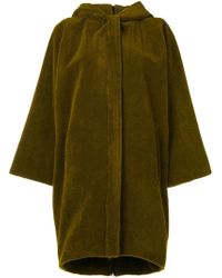 Gianluca Capannolo - Hooded Single-breasted Coat - Lyst