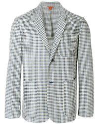 Barena - Checkered Pattern Blazer - Lyst