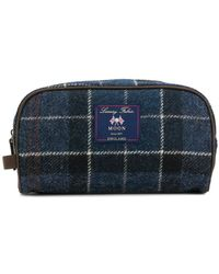 Barbour - Checked Wash Bag - Lyst