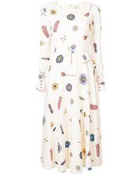 Novis - Printed Dress - Lyst