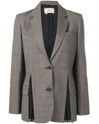 Ports 1961 - Tie Waist Checked Blazer - Lyst