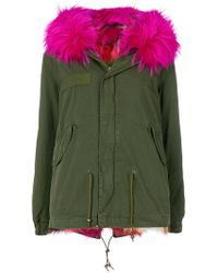 Mr & Mrs Italy - Fur-lined Hooded Parka - Lyst