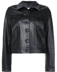 Anine Bing - Cooper Leather Jacket - Lyst
