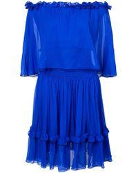 Prabal Gurung - Off-the-shoulders Ruffled Dress - Lyst