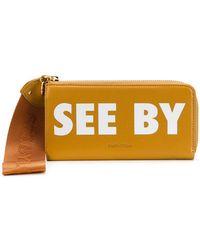 See By Chloé - Joris Long Zipped Wallet - Lyst
