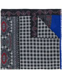 Etro | Printed Paisley Scarf | Lyst