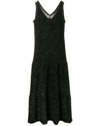 Sara Lanzi - Glitter Sleeveless Dress - Lyst