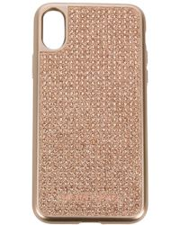 MICHAEL Michael Kors - Diamante Studded Iphone X Case - Lyst