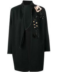 Antonio Marras - Floral Embellished Coat - Lyst
